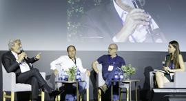 הוועידה הכלכלית הלאומית 2018 פאנל על עתיד ענף התקשורת, צילום: עמית שעל