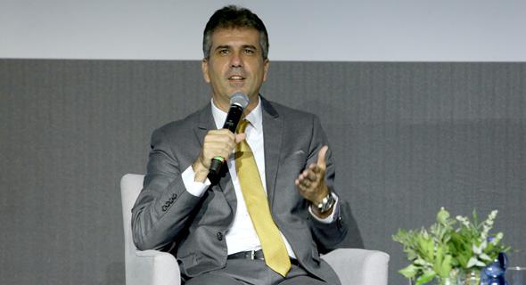 אלי כהן שר הכלכלה ו ה תעשייה הוועידה הכלכלית הלאומית 2018, צילום: אוראל כהן