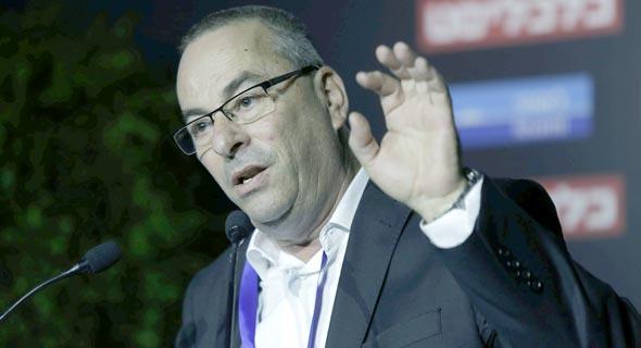 רוני בריק, נשיא התאחדות בוני הארץ, בוועידה