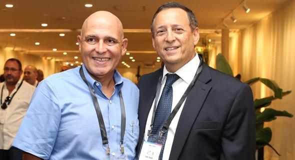 דוד פתאל משה מנו וועידה כלכלית לאומית, צילום: אוראל כהן
