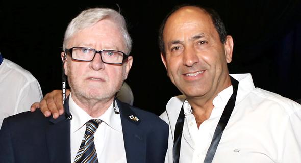 רמי לוי יוסף שפירא מינגלינג וועידה כלכלית לאומית, צילום: אוראל כהן