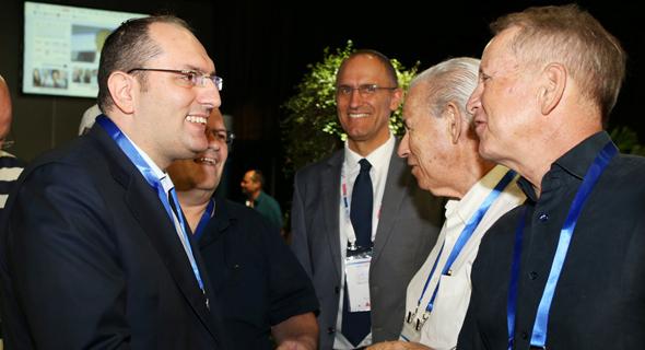 מוטי בן משה מושיק תאומים וועידה כלכלית לאומית, צילום: אוראל כהן