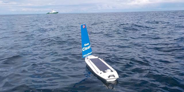 הישג אוטונומי: סירה רובוטית צלחה לבדה את האוקיינוס האטלנטי