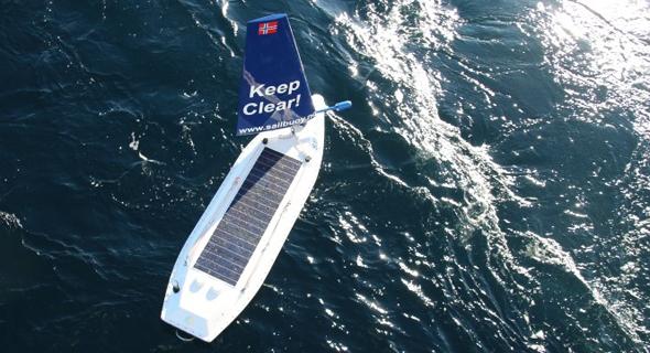 הסירה הנורווגית שצלחה את האוקיינוס לבדה