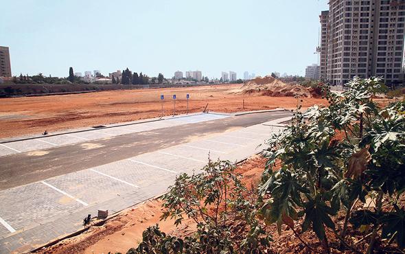 מתחם הרצועה בגבעת שמואל. היזמים מתכוונים להגדיל את שטחי המגורים
