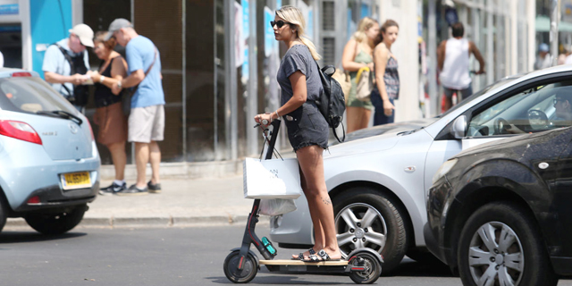 As Electric Scooters Take Over the World, Tel Aviv Stands First in Line