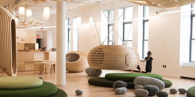 כמו WeWork רק לפעוטות: כך נראה גן הילדים WeGrow בניו יורק