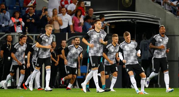 נבחרת גרמניה. תמשיך עם אדידס עד מונדיאל 2026 לפחות, צילום: רויטרס