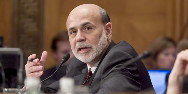 """ברננקי: """"הריבית הנמוכה עדיין נחוצה להבטחת ההתאוששות הכלכלית"""""""