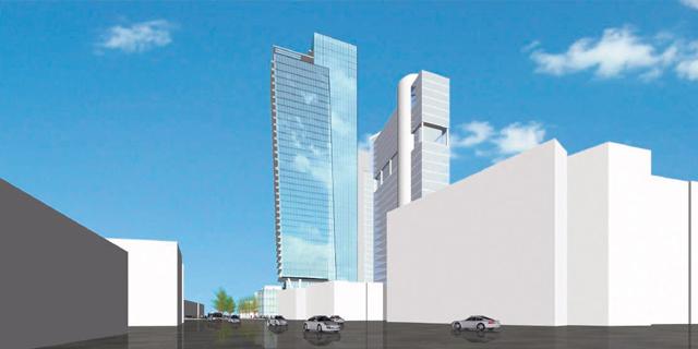מגדל חדש ברוטשילד: 40 קומות, 320 חדרי מלון ו־120 דירות