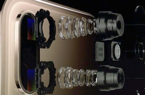 מצלמת האייפון XS המרכזית