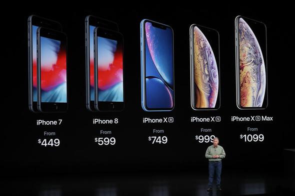 מכשירי אפל החדשים 2018, צילום: אפל