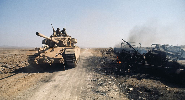 טנק שוט ישראלי בזירת רמת הגולן, צילום: Wikipedia