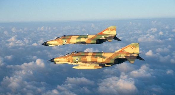 צמד פאנטומים, צילום: אתר חיל האוויר הישראלי