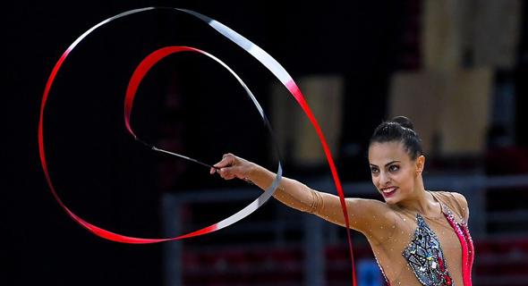 לינוי אשרם. ב-2019 חזרה מפציעה לאליפות העולם וזכתה בשלל מדליות זהב וכסף