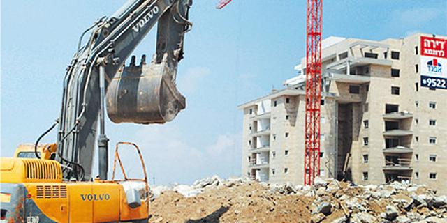 אתר בנייה (ארכיון)  , צילום: אוראל כהן