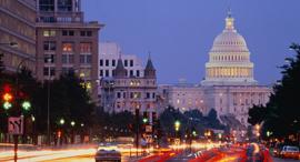 "וושינגטון די.סי בירת ארה""ב בית הנבחרים סנאט קונגרס , צילום: גטי"