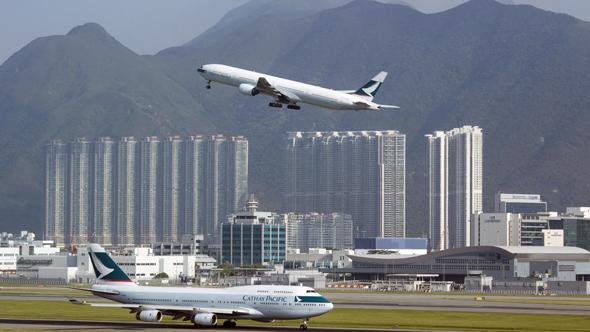 מקום 6. שדה התעופה של הונג קונג, צילום: רויטרס