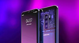עיצוב קונספט גלקסי S10, צילום:  PhoneDesigner