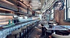 פנאי COAL OFFICE RESTAURANT מסעדה משרד קואליציה, צילום: פאר לינדגרין
