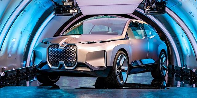 ב.מ.וו חשפה את מכונית הקונספט האוטונומית שלה; מבטיחה: ייצור מ-2021