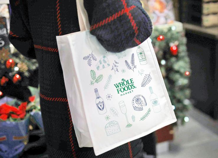 תיק של הול פודס. משדר לעולם שאתה מקפיד על בריאות, צילום: wbc.co.uk