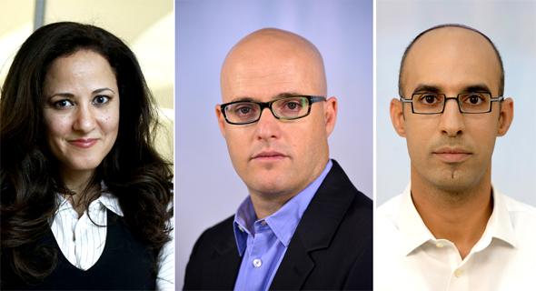 המועמדים להחלפת סלינגר: הראל שרעבי, אסף מיכאלי וגיתית גור גרשגורן, צילום: עמית שעל