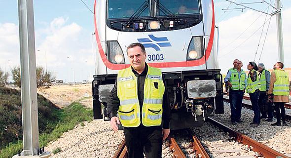 ישראל כץ, שר התחבורה