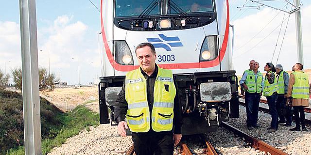 ישראל כץ, צילום: דוברות משרד התחבורה