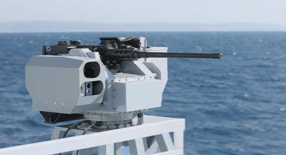 עמדת נשק ימית של אלביט, צילום: אלביט מערכות