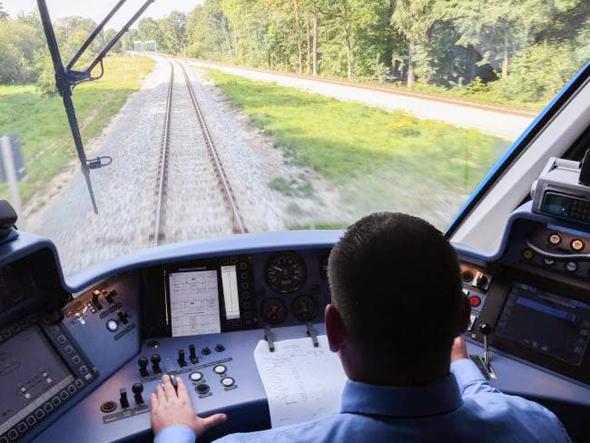 הרכבת מתא הנהג, צילום: איי אף פי
