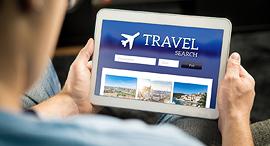 מנוע חיפוש טיסה תיירות חופשה, צילום: שאטרסטוק