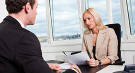 ראיון עבודה עובדים קריירה משרד, צילום: שאטרסטוק