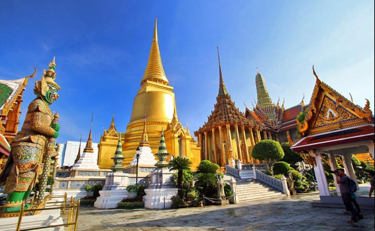 מקדש וואט פרה קאו, בנגקוק, צילום: Asia web direct