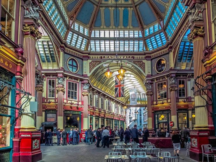 לונדון שוק לידלנהול בלונדון, צילום: שאטרסטוק