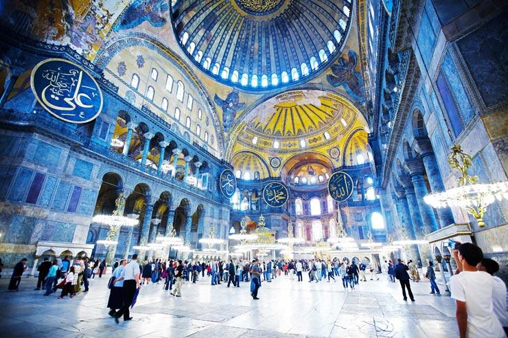 מסגד איה סופיה, איסטנבול, צילום: Lonely Planet