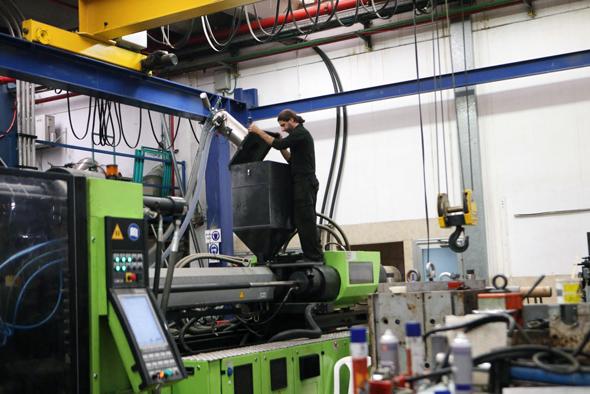 מפעל באזור התעשייה ברקן בשומרון