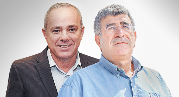 מימין יונה פוגל ו יובל שטייניץ , צילום: עמית שעל, אוראל כהן