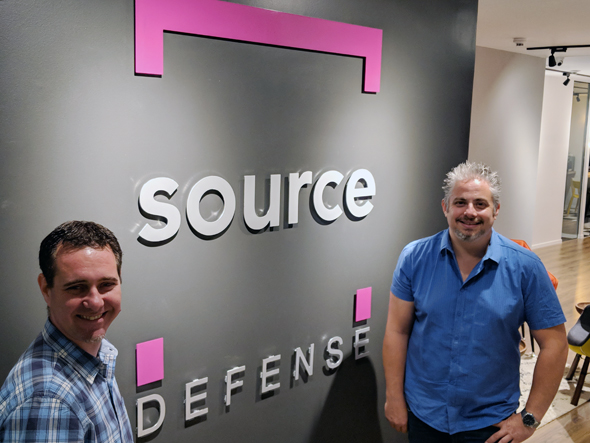 Source Defense co-founders Avital Grushcovski (left) and Hadar Blutrich. Photo: PR