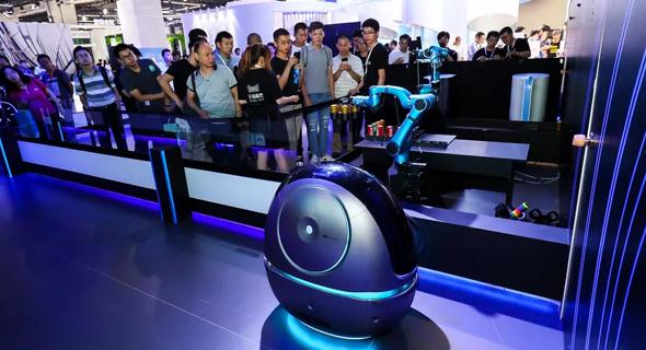 עליבאבא רובוטים רובוטיקה רובוט, צילום: Alibaba AI labs