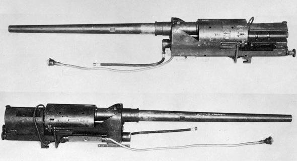 תותח ה-MG 213C שפותח בגרמניה הנאצית