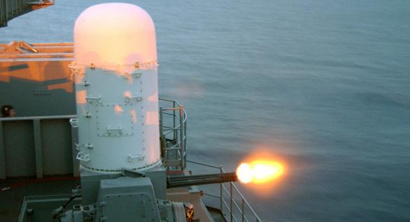 תותח וולקן פלאנקס, כלי הגנה ימי שמסוגל להפיל טילים באוויר
