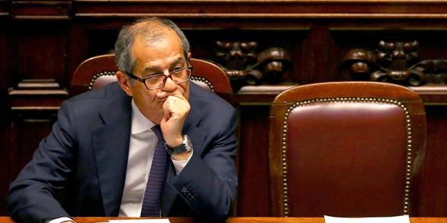 משבר פוליטי-תקציבי באיטליה: חברים בממשלה במתקפה על שר האוצר
