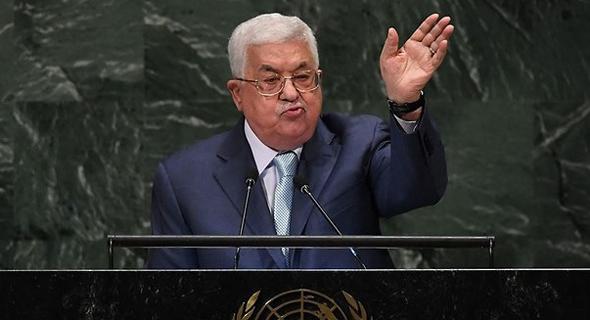 """יו""""ר הרשות הפלסטינית, אבו מאזן, צילום: איי אף פי"""