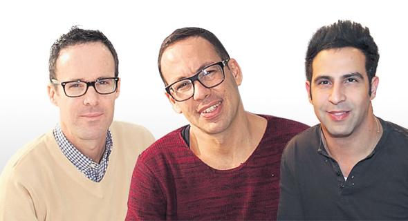 בעלי רשת בראון (מימין): ניר ויצמן, ניצן פרי וליאון אביגד , צילומים: אתר החברה,אוראל כהן, יריב כץ
