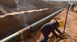 """צינור נפט קצא""""א 2, צילום: קצאא"""