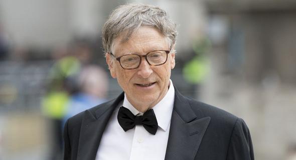 ביל גייטס מייסד מיקרוסופט 2018 , צילום: בלומברג