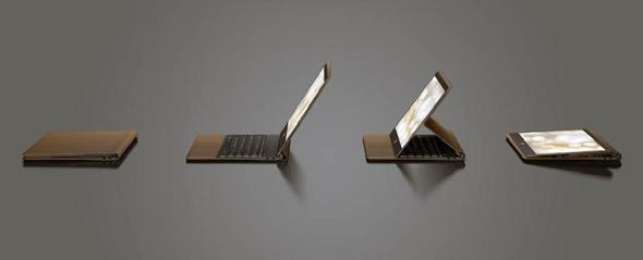 לפטופ, טאבלט, תיקיה. מחשב הספקטר פוליו, צילום: HP