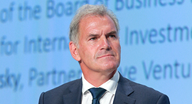 Pascal Cagni, chairman of the board of Business France. Photo: Orel Cohen