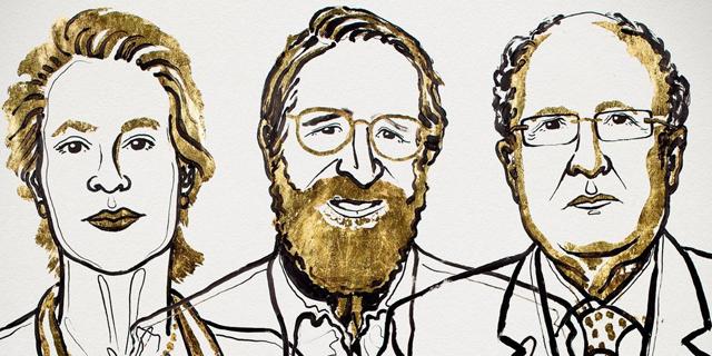 מדענית ושני מדענים זכו בנובל בכימיה על תהליכים אבולוציוניים במעבדה